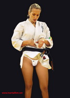 20 - Sexy Taekwondo Girl in Thong
