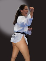 005 Hot Karate Girl