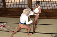 Hot Karate Woman 4
