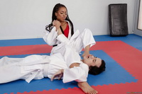 Kira Noir - Karate and sex 004