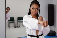 Kira Noir - Karate and sex 090