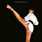Hot Martial Woman In Gi